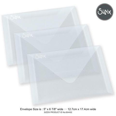 Sizzix Storage Envelopes - säilytystaskut