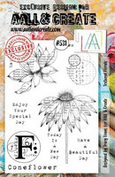Aall & Create : Textured Florals #531 - leimasinsetti