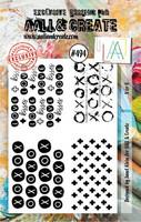 Aall & Create: X or O  #494  -leimasinsetti