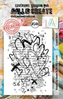 Aall & Create: Scripted Hearts  #544  -leimasinsetti