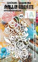 Aall & Create STENCIL: Bloomed Roses  #127 - sabluuna