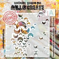 Aall & Create STENCIL Lotza Crescentz  #123 - sabluuna