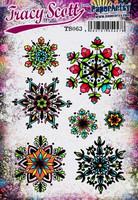 Paperartsy: Tracy Scott Snowflakes Ezmount A5 - leimasinsetti