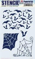 Paperartsy: Nicci Battilana Stencil  288 -sabluuna
