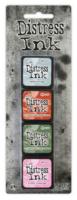 Distress Ink Mini Set #16 -mustepakkaus