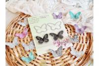 Agiart: Butterflies   -stanssi- ja leimasinsetti