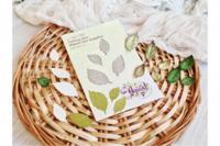 Agiart: Embossed Leaves -stanssisetti