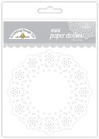Doodlebug Design Mini Doilies : Lily White