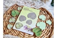 Agiart: Violet Leaves (Metsäorvokin lehti) -stanssisetti