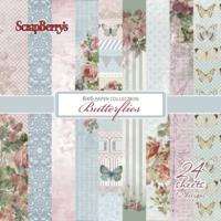 Scrapberry: Butterflies 6x6 - paperikokoelma