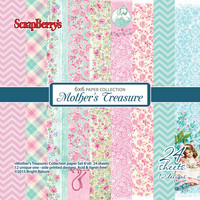 Scrapberry: Mother's Treasure 6x6 - paperikokoelma