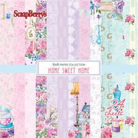 Scrapberry: Home Sweet Home 6x6 - paperikokoelma