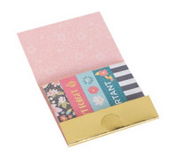 Recollections Sticky Notes: Floral Page Flags 2