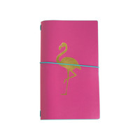 Recollections Tropical Life Traveler Notebook: Flamingo