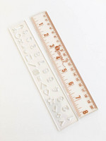 Teresa Collins B Journal Rulers