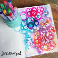 Jane Davenport Mermaid Markers - kynäpakkaus