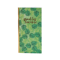 Recollections Tropical Life Traveler Notebook: Budget - vihko
