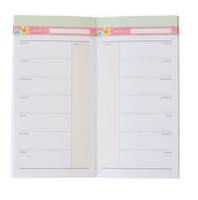 Recollections Tropical Life Traveler Notebook: Calendar - vihko