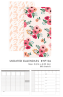 WP Color Crush Undated TN Calendars - pakkaus