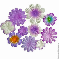 Scrapberry: Mini Flowers Purple  - kukkapakkaus