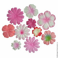 Scrapberry: Mini Flowers Pink  - kukkapakkaus