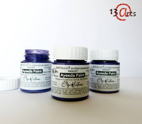 13arts Ayeeda Paint: Metallic Violet 25 ml