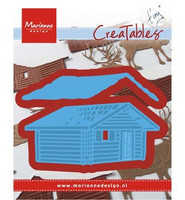 Creatables: Log Cabin -stanssisetti