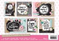 Hand Lettering Cards A5  - korttikuvalehtiö
