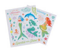 Recollections Enchanting Mermaid Clear Stickers -tarrapakkaus