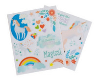 Recollections Enchanting Unicorn Clear Stickers -tarrapakkaus