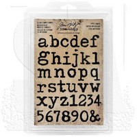 Cling Foam Stamps: Type Lower