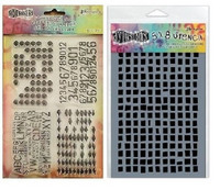 Stamps & Stencil: Basically Square