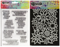 Stamps & Stencil: Quote Medley