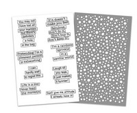 Stamps & Stencil: Quote Bubbles