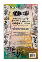 Dylusions Coloring Sheets 5x7