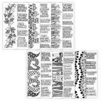 Dylusions Coloring Sheets 2,5x8