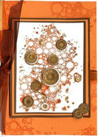 Bubbles Background - leimasin