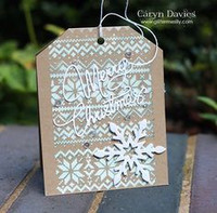 Layering Stencil: Holiday Knit