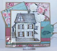 Joy Crafts: Vintage Homes A5  -leimasinsetti