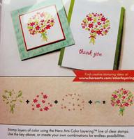 Color Layering: Bouquet - leimasinsetti