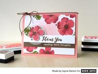 Color Layering: Hibiscus - leimasinsetti