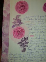 Layering Clear Stamps:  Rose -kirkas leimasinsetti
