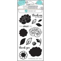 Layering Clear Stamps:  Flower Amaze -kirkas leimasinsetti