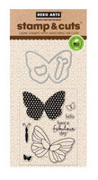 Stamp & Cut: Butterflies -setti
