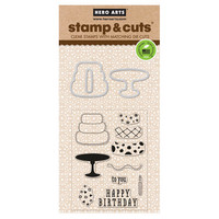 Stamp & Cut: Birthday -setti