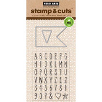 Stamp & Cut: Flag -setti