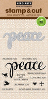 Stamp & Cut: Peace -setti