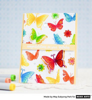 Stamp & Cut: Butterfly Pair -setti