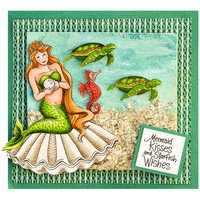 Clear Stamps & Cutting Dies: Mermaid & Friends