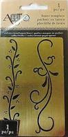 Art C Brass Template: Scrolls
